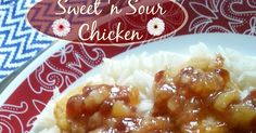 The Better Baker: Sweet 'n Sour Chicken {Microwave}