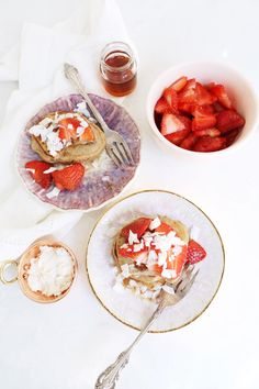 Girl's Brunch Pancakes Everyone Will Be Obsessed With! #pancakes #healthyrecipes #recipe