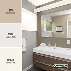 #CeresitaCL #PinturasCeresita #color #baños #pintura #decoración #tendencia #espacios *Códigos de color sólo para uso referencial. Los colores podrían lucir diferentes, según calibrado de su monitor