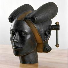 Jim Shaw  DREAM OBJECT (VISE HEAD), 2006   Bronze  12 x 8-1/2 x 8-1/2 inches (30.5 x 21.6 x 21.6 cm)