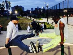 Yann Geoffrey, the Promotional Model King, PMK, and Alexis Bacci Leveille, collaboration Bronx NY