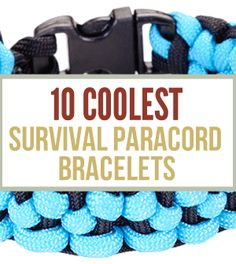 """This past week, Survival Life created a list of the """"10 coolest survival bracelets."""" Do you agree with this list, or think that they're missing something?! Would love to hear in the section below http://survivallife.com/2014/05/30/paracord-survival-bracelets/"""