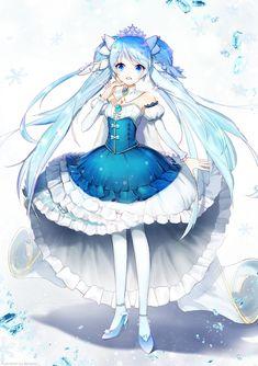 Wallpaper Z - Hatsune miku Anime Blue Hair, Emo Anime Girl, Anime Girl Pink, Cute Anime Boy, Kawaii Anime Girl, Otaku Anime, Vocaloid Characters, Anime Princess, Image Manga