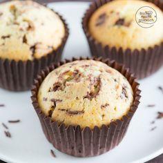 Eierlikör-Muffins mit Schokolade