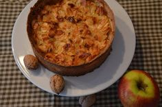Food and More - Rezeptra: Apfelkuchen mit Knuspermandeln