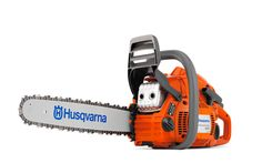 Husqvarna 445 chainsaw. Powerful all-round saw for people who value professional qualities in a saw.