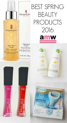 Best Spring Beauty Products 2016 on www.amotherworld.com