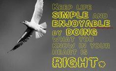 Keep Life Simple and Enjoyable