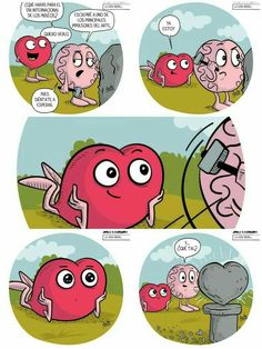 Sígueme como GSánchez. Heart Vs Brain, Heart And Mind, S Quote, Love Quotes, Storytelling, Cartoon, Comics, Memes, Funny