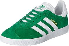 adidas Gazelle, Sneakers Basses Mixte Adulte, Bleu (Collegiate Navy/White/Gold Met), EU42