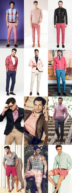 @Shelley Parker Herke Childers okay, not all the looks. I really like the light blue pants on the second row and the navy jacket with the light tan pants on the third row, actually I like that whole look with the pink shirt too :)