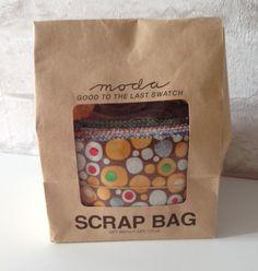 Moda Scrap Bag - good to the last swatch