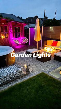 Outdoor Projects, Garden Projects, Smart Lights, Small Garden Design, Farmhouse Decor, Outdoor Living, Outdoor Life, The Great Outdoors, Outdoors