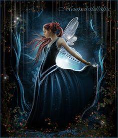 Moonlight Fairy - fairies Photo