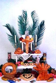 Louisiana altar honoring St. Joseph