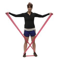 Try these resistance band exercises with one of our CanDo® bands and see how versatile exercise bands really are!