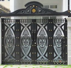Gate Wall Design, Grill Gate Design, Steel Gate Design, Front Gate Design, Main Gate Design, Window Grill Design, House Gate Design, Latest Gate Design, Modern Stair Railing