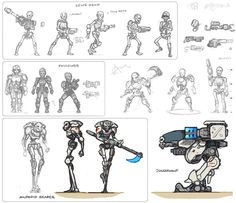 Undead Skeleton cyborgs