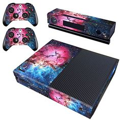 Vanknight Xbox One Vinyl Decal Skin Stickers Cover for Console Kinect Controllers * Click image to review more details.Note:It is affiliate link to Amazon.