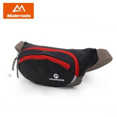 0718c42a070 Maleroads Running Waist Pack Waist Pouch Cycling Fanny Pack BELT BAG Large  Capacity Hip Pack Hiking