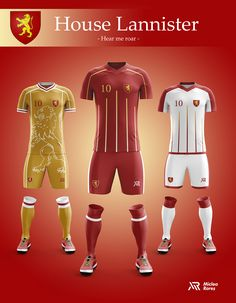 6f55f569d54a6 Concept - Game of Thrones football kits