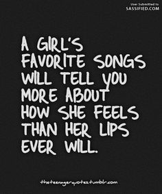 A Girl's Favorite Songs - Sassified