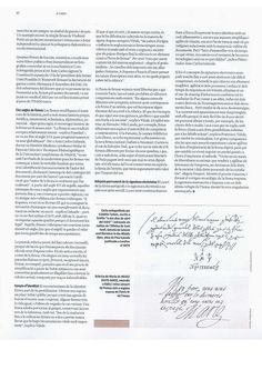 5.- En el suplement de La Vanguardia d'avui, dissabte 4 d'Octubre de 2014, apareix publicat l'article: Adéu a les signatures?, de la periodista Yaiza Saiz, on es fa un repàs sobre el sentit i la història de les signatures, així com el seu futur immediat, acompanyat de belles il·lustracions. Tot això de la mà d'experts com Francesc Viñals Carrera, Director del Màster en Grafoanàlisi Europea de la Universitat Autònoma de Barcelona. Bullet Journal, Bridge, Journaling, Lifestyle