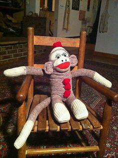 Vintage Sock Monkey   eBay