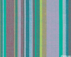 Kaffe Fassett Yarn-Dye - Bold Southwest Stripes - Teal