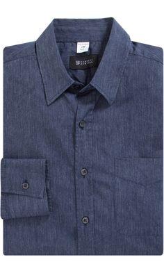 Barneys New York CO-OP Chambray Shirt - Casual - Barneys.com