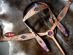 BRIDLE BREAST COLLAR supposed to be Western but looks like medieval to me