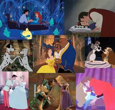 Disney films that let us dream about what true love could be. Where is this for today's generation? Sigh......