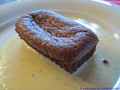 Fondants chocolat et creme de marrons