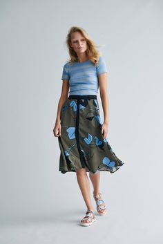 There's a new designer on my radar and her name isStine Goya. The Danish designer studied prints at Central Saint Martins and her expertise is evidentin her feminine,artfully printedcollections. Her most recentcollection, which launches this week, is full of delicatelydotted dresses,