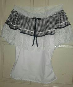 La quiero Vestido Charro, Amelie, Folklore, Off Shoulder Blouse, Ruffle Blouse, Pattern, Dresses, Women, Fashion