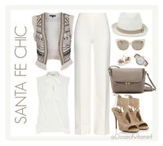 Santa Fe Chic by styledbydoseofvitaminf on Polyvore featuring polyvore, fashion, style, River Island, French Connection, Diane Von Furstenberg, Aquazzura, Kate Spade, Ippolita, Oasis and Jimmy Choo