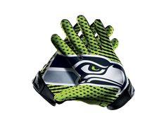 Nike Vapor Jet 2.0 (NFL Seahawks) Football Gloves