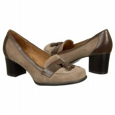 Naturalizer Fyre Shoes (Taupe Suede/Oxford) - Women's Shoes - 9.5 M