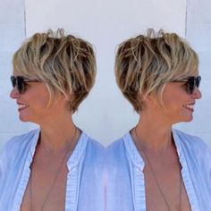 Short hairstyles for women over 50 (13)