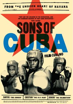 Sons of Cuba movie poster. INTRO Partnership.