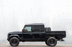 Painstakingly restoring Land Rovers with an obsession for detail and a commitment to the essentials. Handmade in Lisbon Land Rover Defender Pickup, Defender 110, Landrover Defender, Land Rover 130, Land Rovers, Offroad, Cars Land, Range Rover Classic, Old Classic Cars