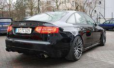 TC Concepts Audi A6/S6 (4F) - Durch Tierferlegungsfedern können Kunden außerdem das Fahrzeugniveau von TC Concepts absenken lassen, eine optionale Performance-Anlage versteckt sich hinter wahlweise 18 oder 20 Zoll große Alufelgen.