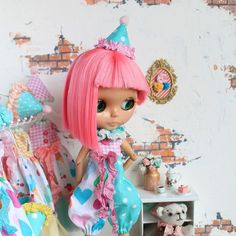 Circus outfit for Blythe