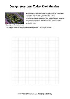 Tudor knot garden worksheet oktouse