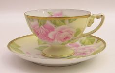 Rosenthal Empire Bavaria Hand Painted Cup & Saucer