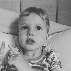 "Loving JB's new phrases ""Mummy I look tired don't I?"" and ""Mummy I look hungry I think?""  #3yearsold"
