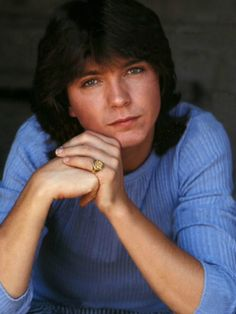David Cassidy. This is probably my favourite photo Ohmygod <3 <3 <3