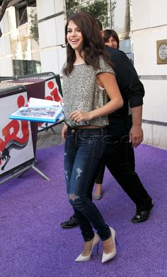 Selena Gomez. Say what you want about her, but she has good fashion taste