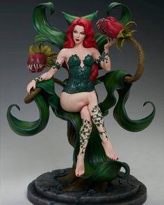 Dc Poison Ivy, Poison Ivy Dc Comics, Pop Culture Store, Superhero Poster, Arte Dc Comics, Military Figures, Comic Book Characters, Gotham, Scale Models
