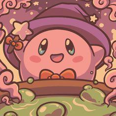 See more 'Kirby' images on Know Your Meme! Anime Halloween, Halloween Icons, Cute Halloween, Sanrio Wallpaper, Cartoon Wallpaper, Kawaii Games, Retro Pop, Cute Pokemon, Anime Figures